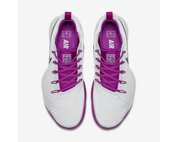 Chaussure Nike Court Air Zoom Ultra React Pour Femme Tennis Blanc/Mauve Vif/Noir_NO. 859718-101