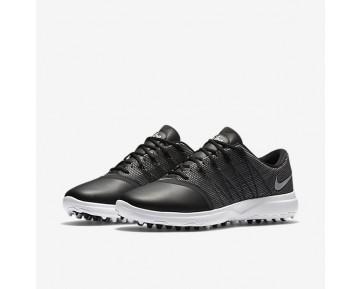 Chaussure Nike Lunar Empress 2 Pour Femme Golf Noir/Blanc/Argent Métallique_NO. 819040-001