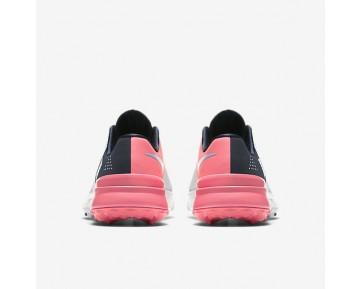 on sale a7d6b f8c23 Chaussure Nike Fi Flex Pour Femme Golf Platine Pur Bleu Nuit Marine Rose  Coureur