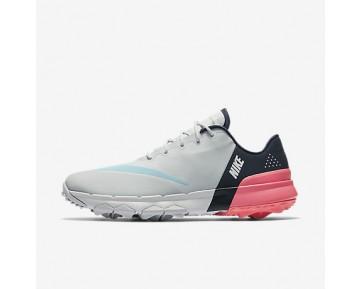 Chaussure Nike Fi Flex Pour Femme Golf Platine Pur/Bleu Nuit Marine/Rose Coureur/Ciel Éclatant_NO. 849973-001