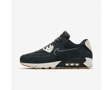 Chaussure Nike Air Max 90 Premium Pour Homme Lifestyle Marine Arsenal/Voile/Jaune Gomme/Marine Arsenal_NO. 700155-403