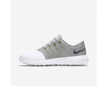 Chaussure Nike Lunar Empress 2 Pour Femme Golf Blanc/Gris Froid/Anthracite_NO. 819040-100