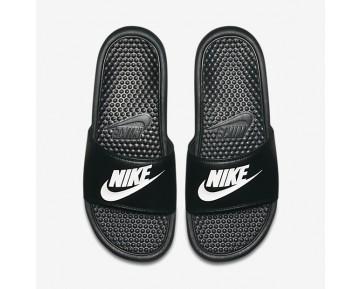 Chaussure Nike Benassi Pour Homme Lifestyle Noir/Blanc_NO. 343880-090