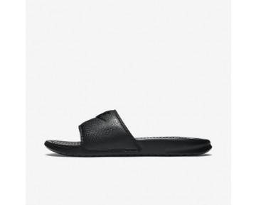Chaussure Nike Benassi Pour Homme Lifestyle Noir/Noir/Noir_NO. 343880-001
