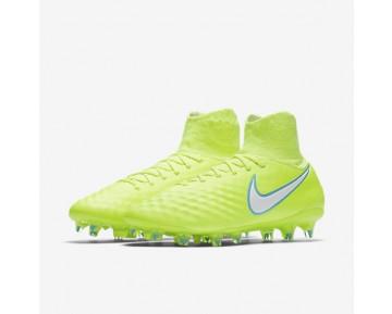 Chaussure Nike Magista Orden Ii Fg Pour Femme Football Volt/Jaune Pâle Électrique/Blanc_NO. 844223-717