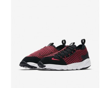 Chaussure Nike Air Footscape Nm Jacquard Pour Homme Lifestyle Rouge Université/Noir/Blanc/Rouge Université_NO. 898007-600