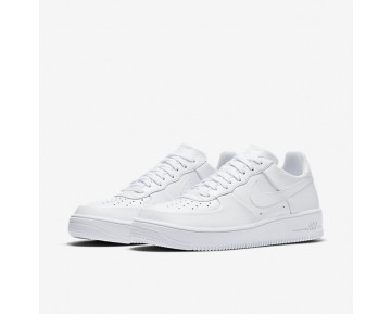 Chaussure Nike Air Force 1 Ultraforce Leather Pour Homme Lifestyle Blanc/Blanc/Blanc_NO. 845052-100