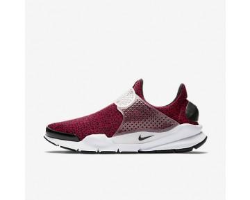 Chaussure Nike Sock Dart Qs Pour Homme Lifestyle Rouge Sportif/Blanc/Noir_NO. 942198-600