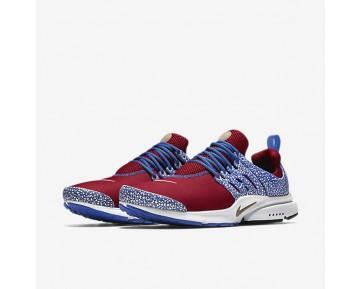 Chaussure Nike Air Presto Qs Pour Homme Lifestyle Rouge Sportif/Blanc/Bleu Coureur_NO. 886043-600