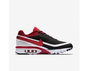 Chaussure Nike Air Max Bw Ultra Se Pour Homme Lifestyle Noir/Blanc/Argent Métallique/Rouge Université_NO. 844967-006