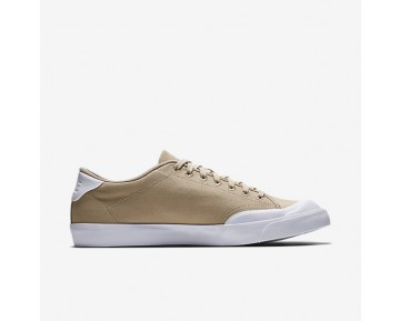 Chaussure Nike All Court 2 Low Canvas Pour Homme Lifestyle Lin/Blanc/Lin_NO. 898040-200