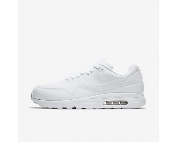 Chaussure Nike Air Max 1 Ultra 2.0 Essential Pour Homme Lifestyle Blanc/Platine Pur/Blanc_NO. 875679-100
