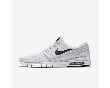 Chaussure Nike Sb Stefan Janoski Max Pour Homme Lifestyle Blanc/Noir_NO. 631303-100