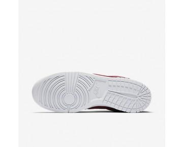 Chaussure Nike Dunk Retro Low Pour Homme Lifestyle Rouge Équipe/Blanc/Rouge Équipe_NO. 896176-601