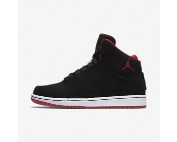 Chaussure Nike Jordan 1 Flight 5 Pour Homme Lifestyle Noir/Blanc/Rouge Sportif_NO. 881434-012