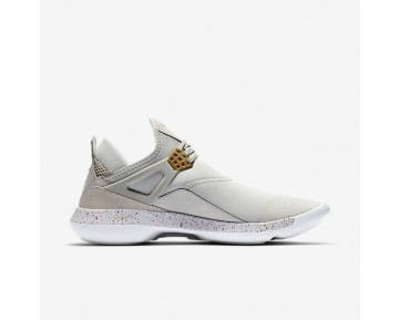 Chaussure Nike Jordan Fly '89 Pour Homme Lifestyle Beige Clair/Blanc/Infrarouge 23/Or Métallique_NO. 940267-022