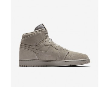 Chaussure Nike Air Jordan I Retro High Pour Homme Lifestyle Gris Loup/Gris Loup_NO. 332550-031
