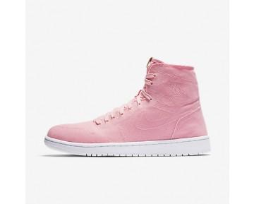 Chaussure Nike Air Jordan 1 Retro High Decon Pour Homme Lifestyle Blanc Irisé/Brun Vachette/Blanc_NO. 867338-620