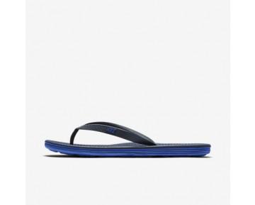 Chaussure Nike Solarsoft Ii Pour Homme Lifestyle Bleu Nuit Marine/Bleu Coureur_NO. 488160-444