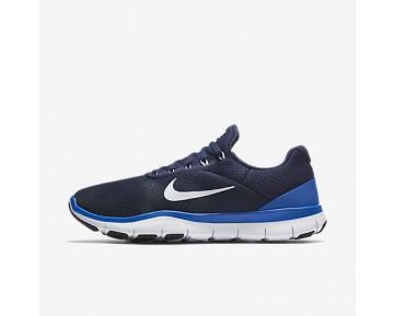 Chaussure Nike Free Trainer V7 Pour Homme Lifestyle Bleu Binaire/Hyper Cobalt/Noir/Blanc_NO. 898053-400