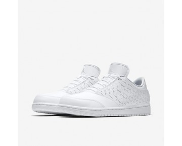 Chaussure Nike Jordan 1 Flight 5 Low Pour Homme Lifestyle Blanc/Platine Pur/Blanc_NO. 888264-100