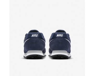 Chaussure Nike Md Runner 2 Pour Homme Lifestyle Bleu Nuit Marine/Gris Loup/Blanc_NO. 749794-410