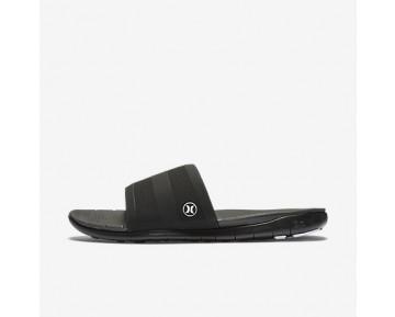 Chaussure Nike Hurley Phantom Free Slide Pour Homme Lifestyle Noir/Blanc_NO. AH1088-001