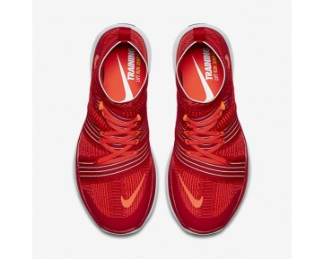 Chaussure Nike Free Train Virtue Pour Homme Lifestyle Rouge Université/Cramoisi Brillant/Platine Pur/Hyper Orange_NO. 898052-600