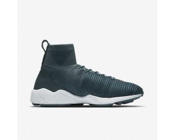 Chaussure Nike Zoom Mercurial Flyknit Pour Homme Lifestyle Renard Bleu/Bleu Marine Collège/Blanc/Pièce D'Or Métallisé_NO. 852616-400