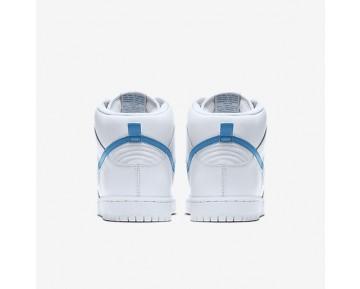 Chaussure Nike Sb Dunk High Pro « Mulder » Pour Homme Lifestyle Blanc/Blanc/Blanc/Bleu Orion_NO. 881758-141