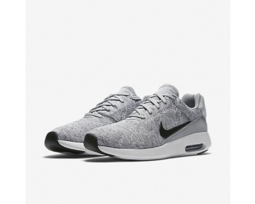 Chaussure Nike Air Max Modern Flyknit Pour Homme Lifestyle Gris Loup/Blanc/Noir_NO. 876066-001