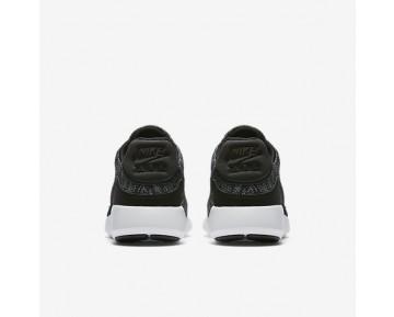 Chaussure Nike Air Max Modern Flyknit Pour Homme Lifestyle Noir/Gris Froid/Rouge Université/Blanc_NO. 876066-002