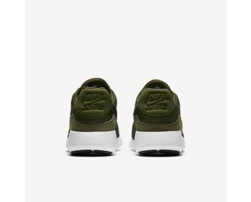 Chaussure Nike Air Max Modern Flyknit Pour Homme Lifestyle Vert Brut/Noir/Blanc/Noir_NO. 876066-300