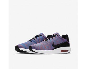 Chaussure Nike Air Max Modern Flyknit Pour Homme Lifestyle Bleu Photo/Cramoisi Brillant/Blanc/Noir_NO. 876066-401