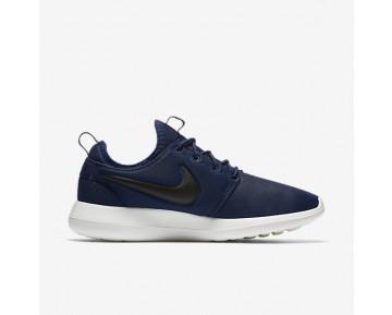 Chaussure Nike Roshe Two Pour Homme Lifestyle Bleu Nuit Marine/Voile/Volt/Noir_NO. 844656-400