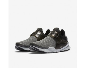 Chaussure Nike Sock Dart Se Premium Pour Homme Lifestyle Gris Foncé/Platine Pur/Aluminium/Noir_NO. 859553-002