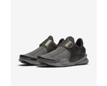 Chaussure Nike Sock Dart Se Premium Pour Homme Lifestyle Noir/Rouge Université/Poussière/Blanc_NO. 859553-001