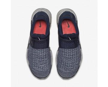 Chaussure Nike Sock Dart Se Premium Pour Homme Lifestyle Bleu Nuit Marine/Rouge Université/Gris Loup/Bleu Nuit Marine_NO. 859553-400