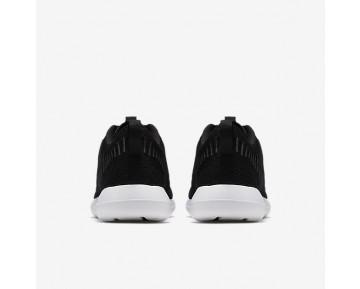 Chaussure Nike Roshe Two Flyknit Pour Homme Lifestyle Noir/Blanc/Volt/Gris Foncé_NO. 844833-001