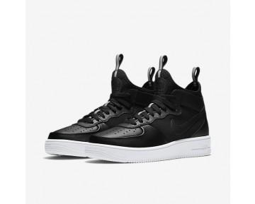 Chaussure Nike Air Force 1 Ultraforce Mid Pour Homme Lifestyle Noir/Blanc/Noir_NO. 864014-001