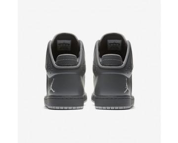 Chaussure Nike Jordan 1 Flight 4 Pour Homme Lifestyle Gris Foncé/Argent Réfléchissant/Gris Loup_NO. 820135-005