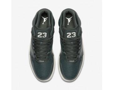 Chaussure Nike Jordan 1 Flight 4 Pour Homme Lifestyle Vert Bocage/Beige Clair_NO. 820135-300