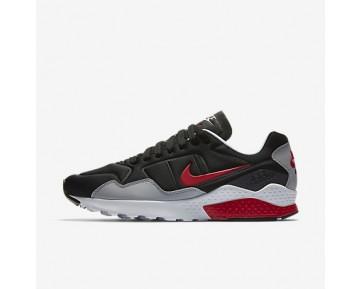 Chaussure Nike Air Zoom Pegasus 92 Pour Homme Lifestyle Noir/Gris Loup/Rouge Atome/Rouge Atome_NO. 844652-004
