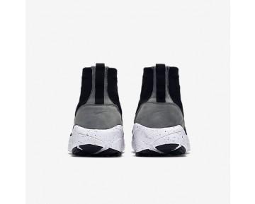 Chaussure Nike Air Footscape Magista Flyknit Pour Homme Lifestyle Noir/Gris Foncé/Volt/Noir_NO. 816560-003