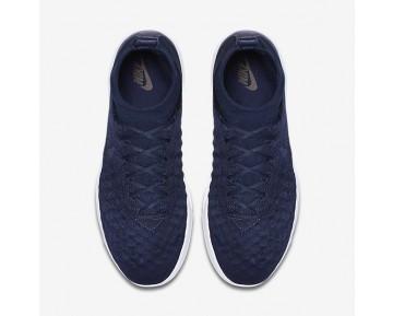 Chaussure Nike Lunar Magista Ii Flyknit Fc Pour Homme Lifestyle Bleu Marine Collège/Noir/Blanc/Bleu Marine Collège_NO. 852614-401