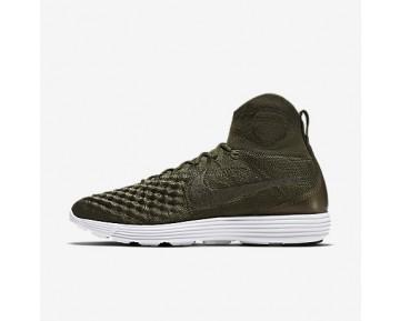 Chaussure Nike Lunar Magista Ii Flyknit Fc Pour Homme Lifestyle Kaki Cargo/Kaki Cargo/Blanc/Kaki Cargo_NO. 852614-300