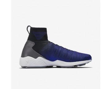 Chaussure Nike Zoom Mercurial Flyknit Pour Homme Lifestyle Bleu Royal Profond/Noir/Platine Pur/Gris Foncé_NO. 844626-004