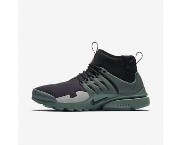 Chaussure Nike Air Presto Mid Utility Pour Homme Lifestyle Noir/Argent Pâle/Vert Vintage/Vert Vintage_NO. AA0868-003