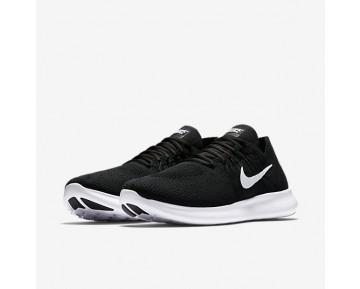 Chaussure Nike Free Rn Flyknit 2017 Pour Homme Running Noir/Noir/Gris Foncé/Blanc_NO. 880843-001