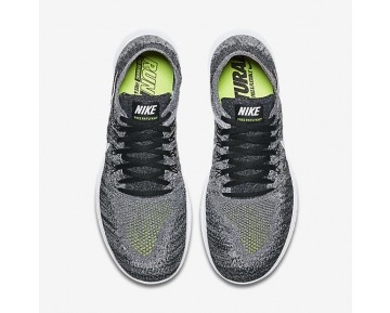 Chaussure Nike Free Rn Flyknit 2017 Pour Homme Running Noir/Volt/Blanc_NO. 880843-003